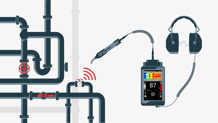 Where Are Leak Detection Devices Typically Installed?
